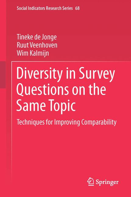 Cover of 'Diversity in Survey Questions on the Same Topic'