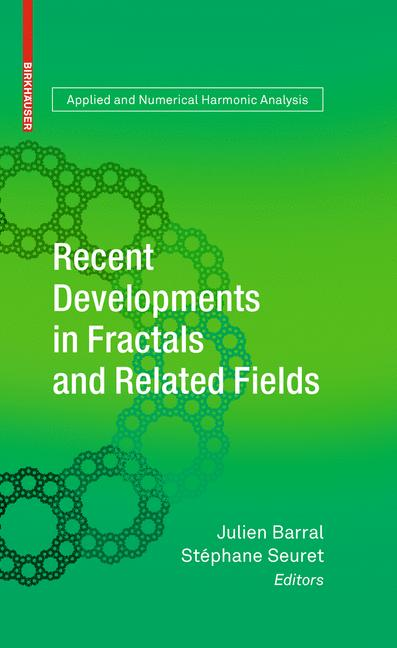 Cover of 'Recent developments in fractals and related fields'