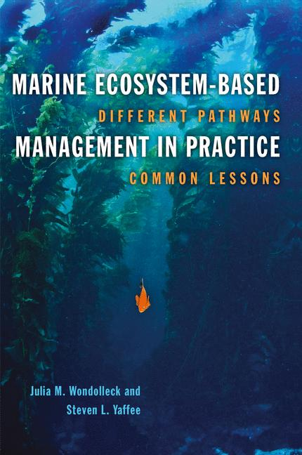 Cover of 'Marine Ecosystem-Based Management in Practice'