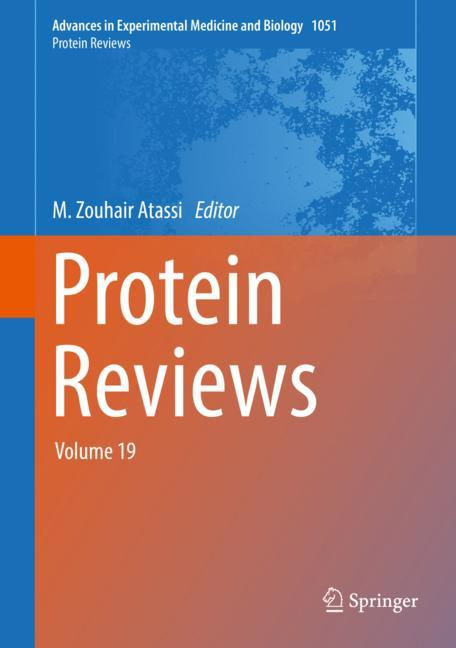 Cover of 'Protein Reviews'
