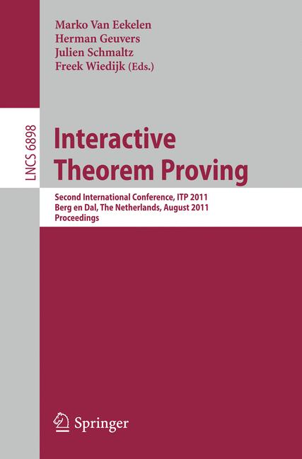 Cover of 'Interactive Theorem Proving'