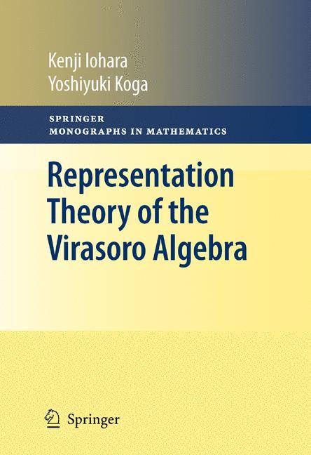 Cover of 'Representation Theory of the Virasoro Algebra'