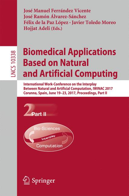 Cover of 'Biomedical Applications Based on Natural and Artificial Computing'