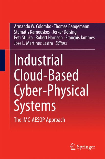 Cover of 'Industrial Cloud-Based Cyber-Physical Systems'