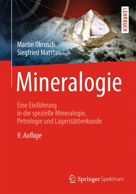 Cover of 'Mineralogie'