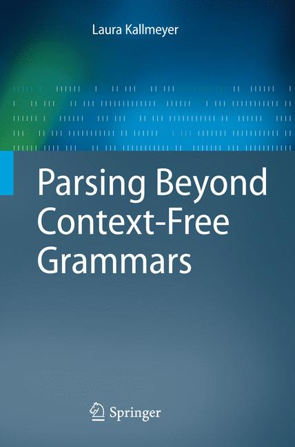 Cover of 'Parsing Beyond Context-Free Grammars'