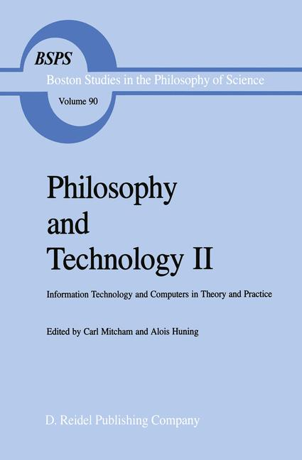 Cover of 'Philosophy and Technology II'