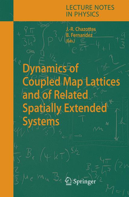 Cover of 'Dynamics of Coupled Map Lattices and of Related Spatially Extended Systems'