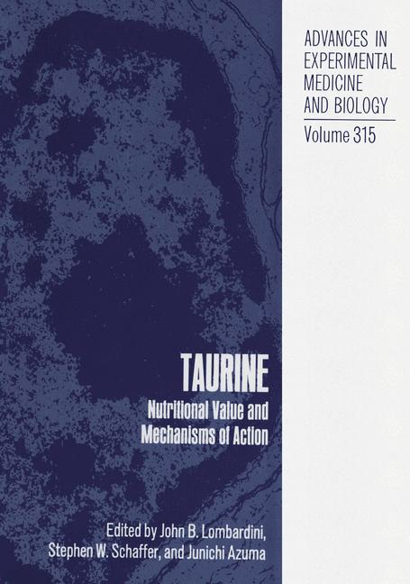 Cover of 'Taurine'