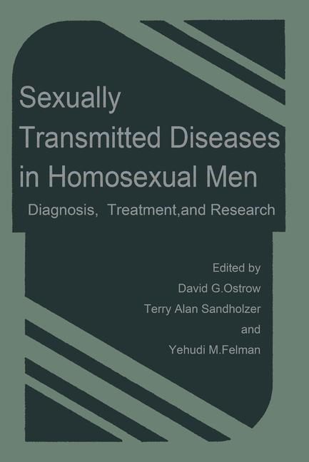 Cover of 'Sexually Transmitted Diseases in Homosexual Men'