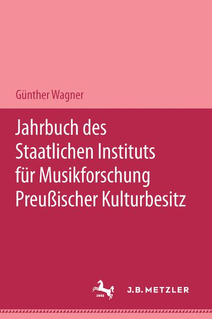 Cover of 'Jahrbuch des Staatlichen Instituts für Musikforschung Preußischer Kulturbesitz'