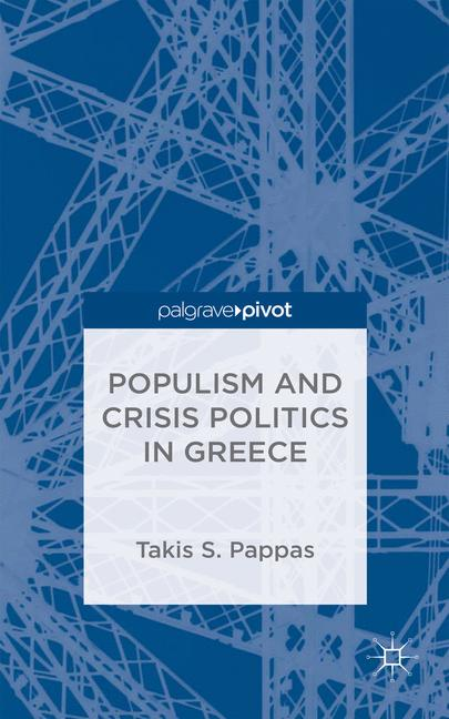 Cover of 'Populism and Crisis Politics in Greece'