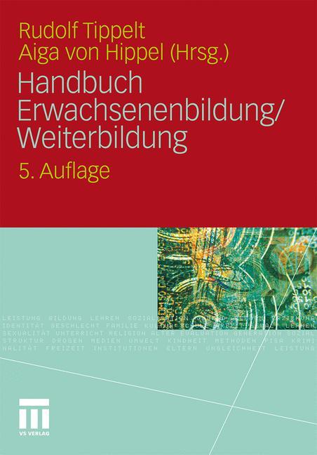 Cover of 'Handbuch Erwachsenenbildung/Weiterbildung'