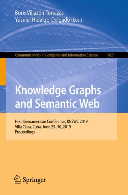 Cover of 'Knowledge Graphs and Semantic Web'