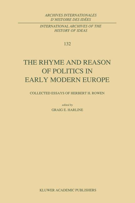 Cover of 'The Rhyme and Reason of Politics in Early Modern Europe'