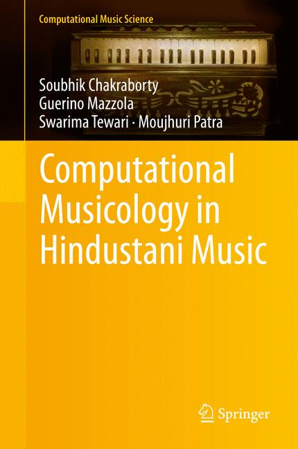 Cover of 'Computational Musicology in Hindustani Music'