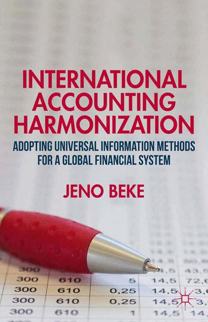 Cover of 'International Accounting Harmonization'