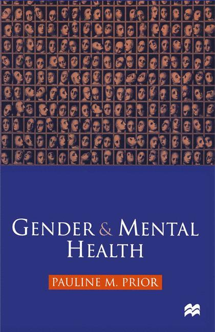 Cover of 'Gender and mental health'