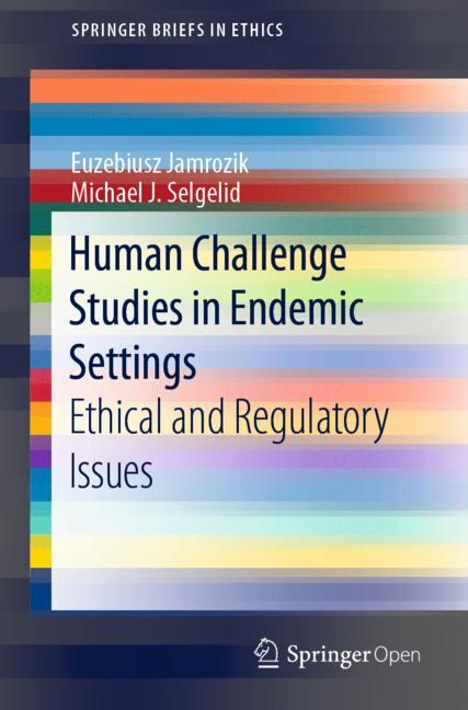 Cover of 'Human Challenge Studies in Endemic Settings'