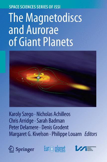 Cover of 'The Magnetodiscs and Aurorae of Giant Planets'
