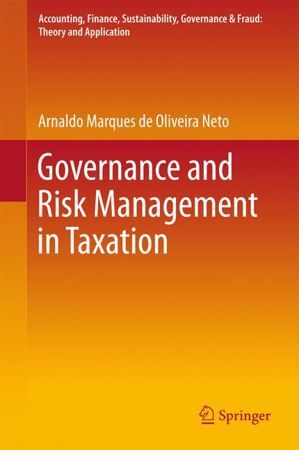 Cover of 'Governance and Risk Management in Taxation'