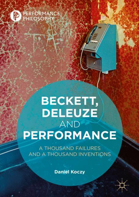 Cover of 'Beckett, Deleuze and Performance'