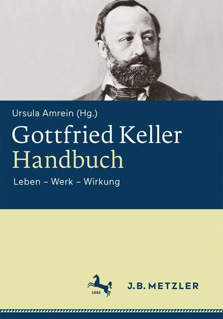 Cover of 'Gottfried Keller-Handbuch'