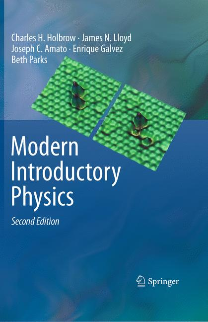 Cover of 'Modern Introductory Physics'