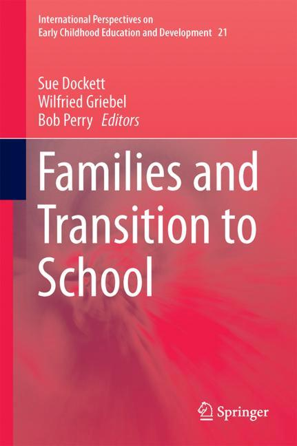 Cover of 'Families and Transition to School'
