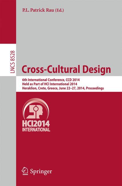 Cover of 'Cross-Cultural Design'