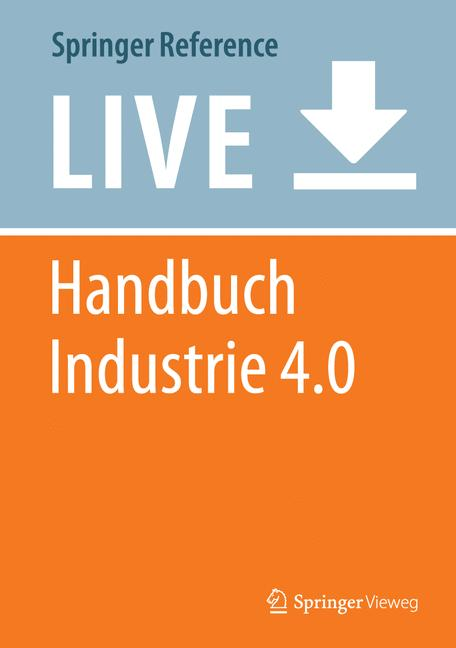 Cover of 'Handbuch Industrie 4.0'