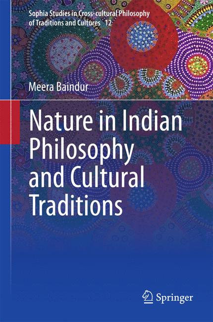 Cover of 'Nature in Indian Philosophy and Cultural Traditions'