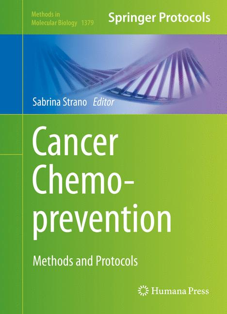 Cover of 'Cancer Chemoprevention'