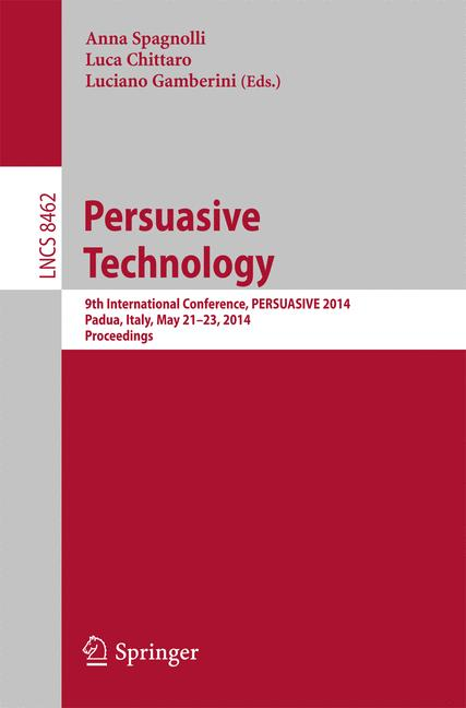 Cover of 'Persuasive Technology'