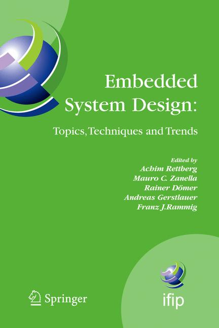 Cover of 'Embedded System Design: Topics, Techniques and Trends'