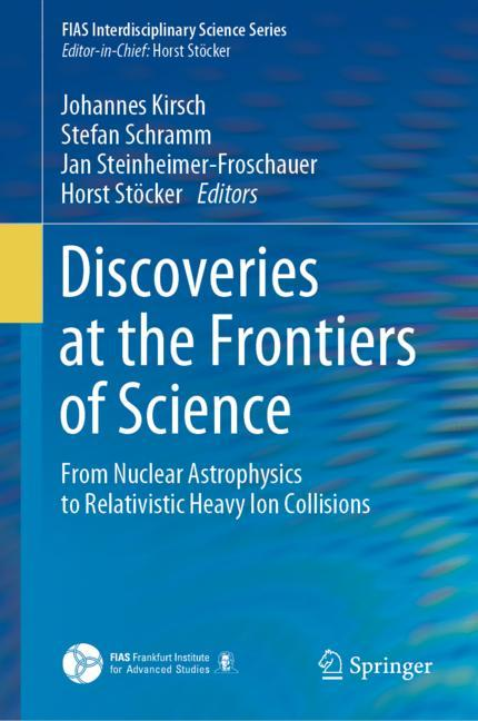 Cover of 'Discoveries at the Frontiers of Science'