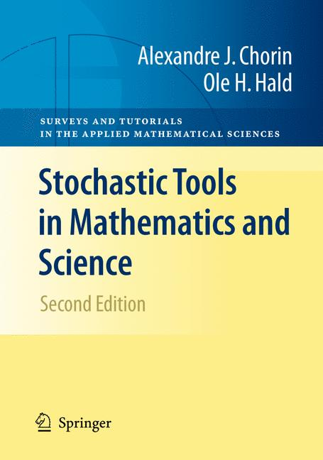 Cover of 'Stochastic Tools in Mathematics and Science'