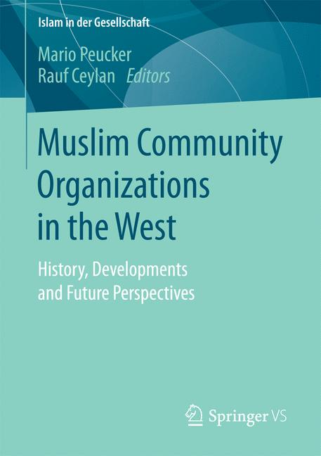 Cover of 'Muslim community organizations in the West'