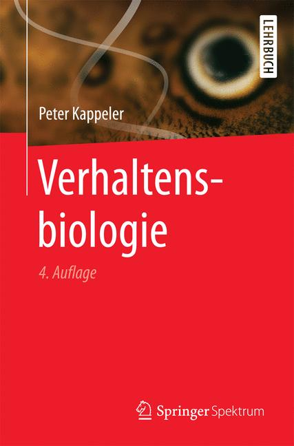 Cover of 'Verhaltensbiologie'