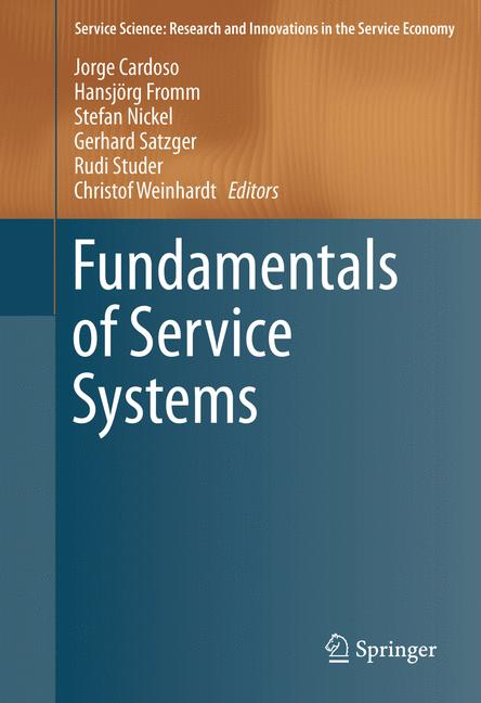 Cover of 'Fundamentals of Service Systems'