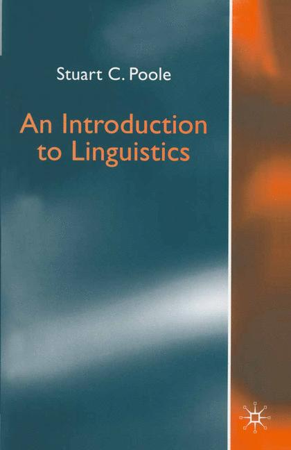Cover of 'An introduction to linguistics'