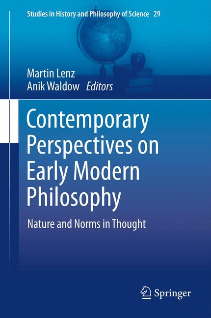 Cover of 'Contemporary Perspectives on Early Modern Philosophy'