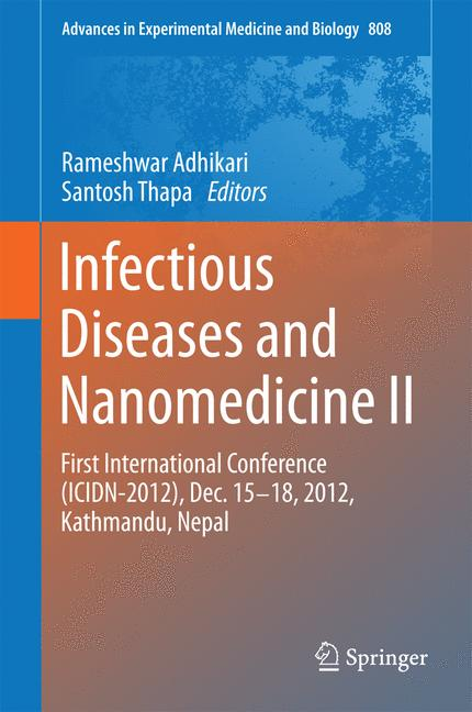 Cover of 'Infectious Diseases and Nanomedicine II'