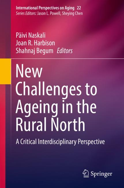 Cover of 'New Challenges to Ageing in the Rural North'