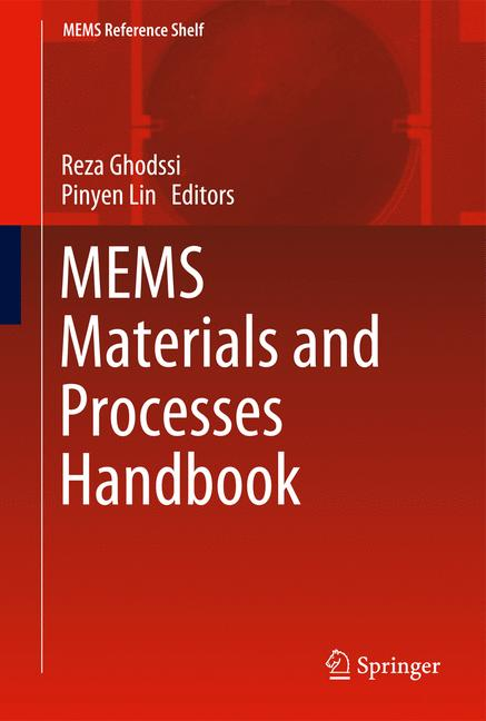 Cover of 'MEMS Materials and Processes Handbook'