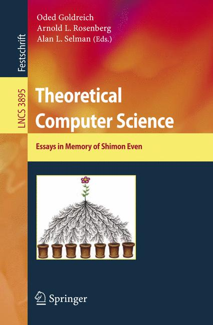 Cover of 'Theoretical Computer Science'