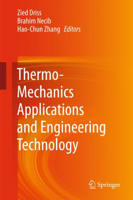 Cover of 'Thermo-Mechanics Applications and Engineering Technology'
