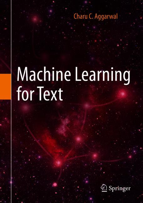 Cover of 'Machine Learning for Text'