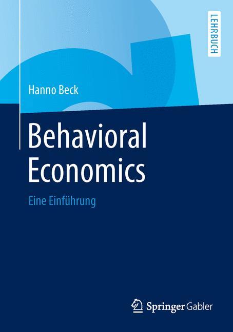 Cover of 'Behavioral Economics'
