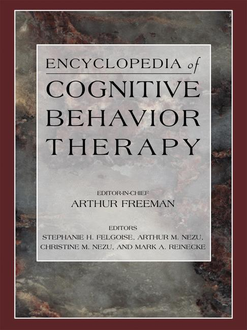Cover of 'Encyclopedia of Cognitive Behavior Therapy'